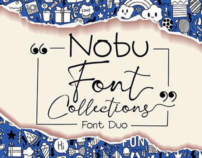 Nobu Font Collections - Font Duo