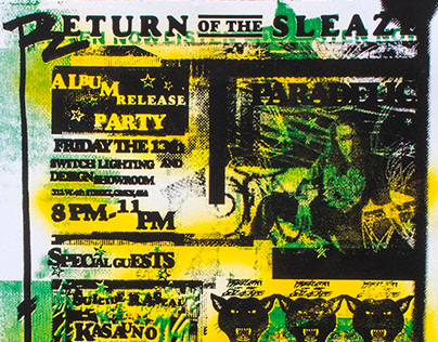 Return of the Sleaze Posters