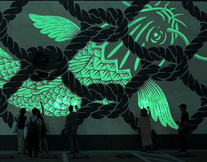 """Connectivity"" Wall (Shenzhen, China)"