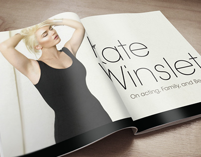 Editorial spreads for ELLE