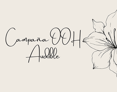 Campaña Out of Home: Audible