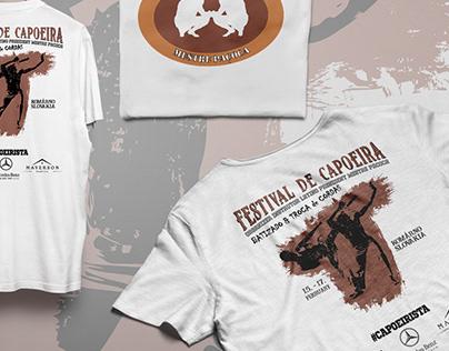 Festival de Capoeira T-shirt