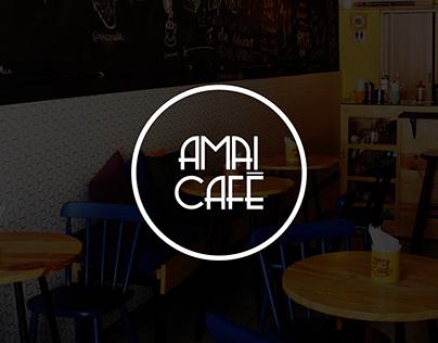 AMAI CAFÉ - ID. Visual