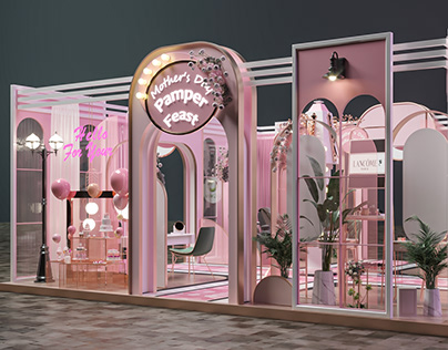 Mother's Day Activation Booth Mall of Egypt 2021