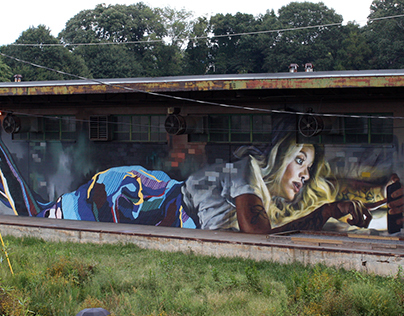 Avatar Mural – With Jarus – Found in Atlanta, Georgia