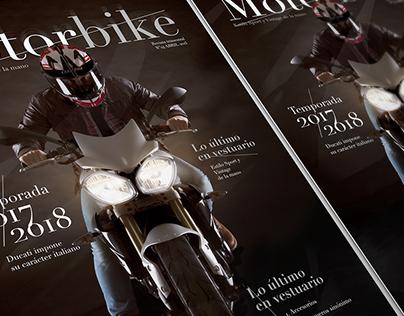 Diseño editorial & fotografía | Motorbike