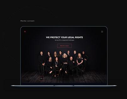 Law Company Website