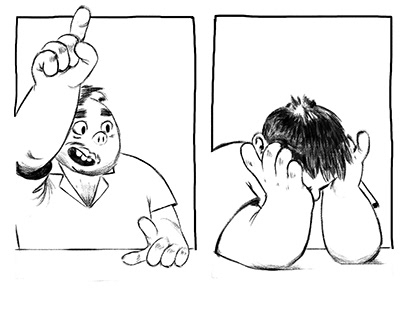 The Conception ofan Authorial Comic Strip
