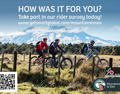 Posters Mountain to sea, Council, Ohakune. New Zealand