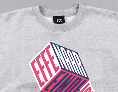 De Effenaar's annual crewneck design