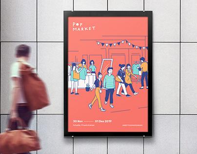 Pop Market 2.0 | Graphic Design