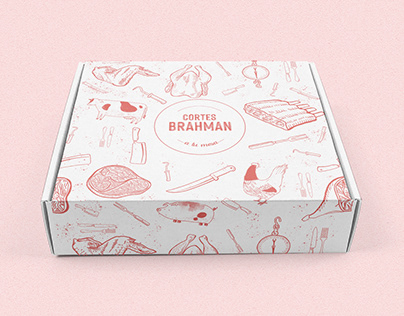 Cortes Brahman - Branding