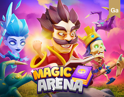 Magic Arena – Animated Characters Full 3D Production