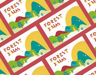 森林麵食 / 聖誕節整體設計專案Forestnoodles_Xmas_Visual Design