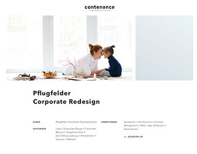 Pflugfelder Corporate Redesign