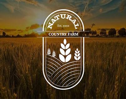 Farm Badge Logo