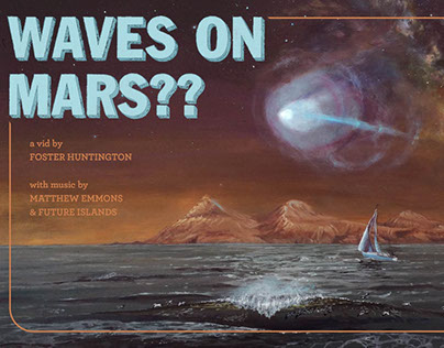 Waves on Mars??