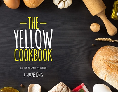 Yellow Cookbook Template
