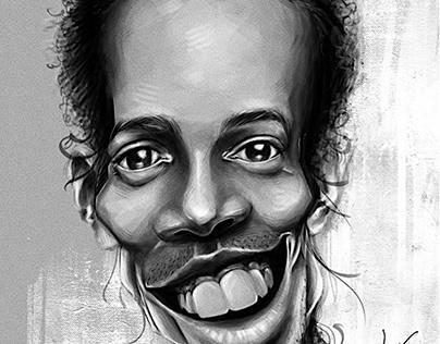 Caricature for Ronaldinho