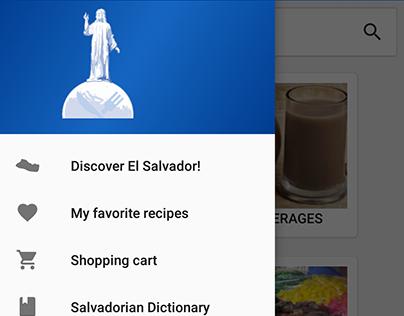 Típicos Salvadoreños - Material Design