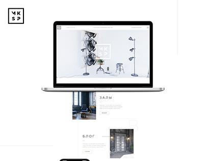 Корпоративный сайт креативного пространства