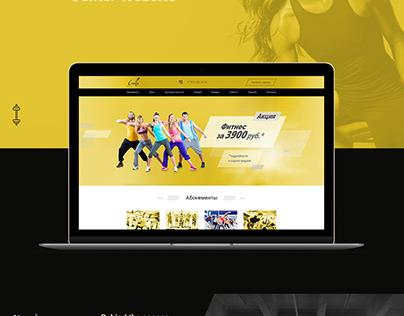Gala Fitness Center Website