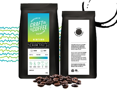 Craft Coffee - Logo Design and Packaging