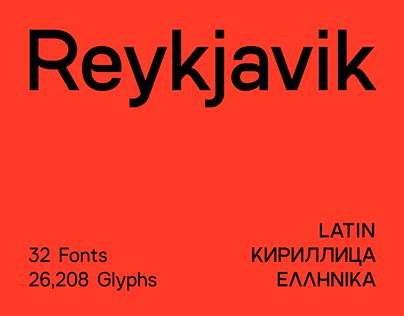 SK Reykjavik Typeface