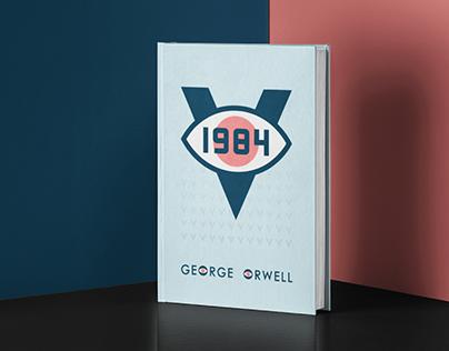 "2016 Book cover concept ""1984"""