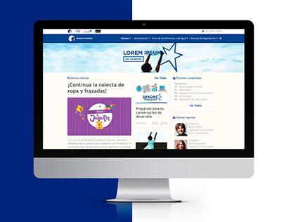 Mundo Danone | Intranet | Web Design