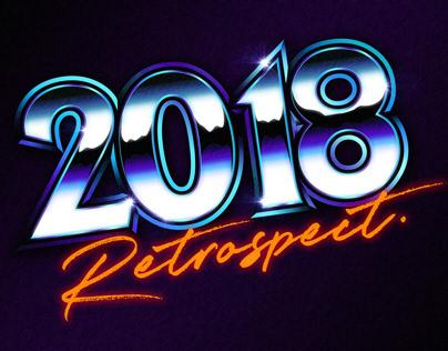 2018 Logotype Retrospect