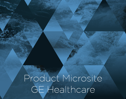 GE Healthcare Product Information Microsite