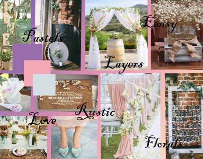 Rustic country side wedding
