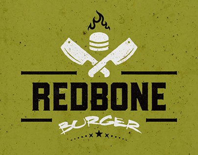 Redbone Burger | Identidade Visual Completa