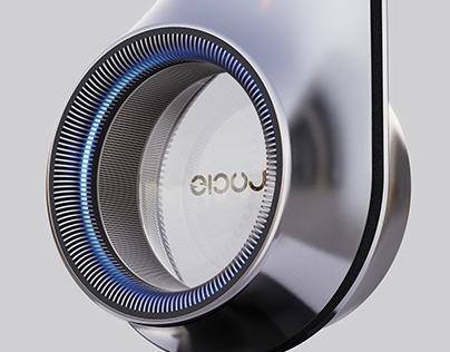 Stelae: Home Bluetooth Speaker Concept