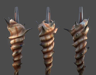 Seashell Weapon