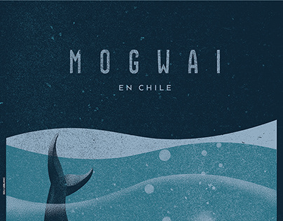 MOGWAI en CHILE / GIGPOSTER