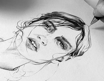 Ink & pencil #4