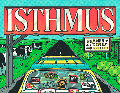 Isthmus - Summer Times Cover