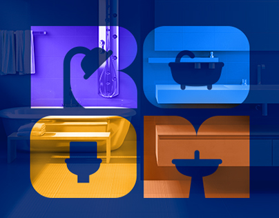 Logo «ROOM». Online store plumbing