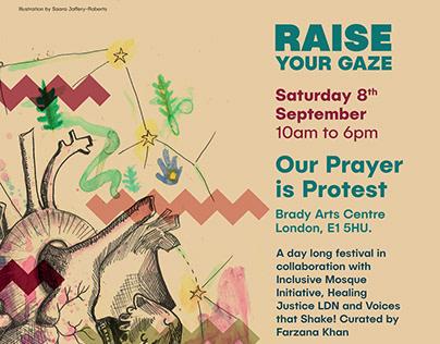 Our Prayer Is Protest - Zine Making Workshop
