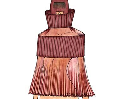 Fashion Illustration Blouses