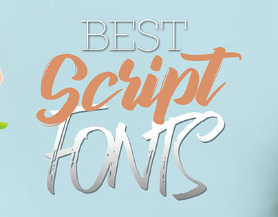 Best Script Fonts For Designers