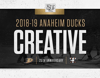 2018-19 Anaheim Ducks Season Creative