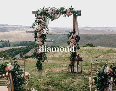 Wedding agency. Diamond
