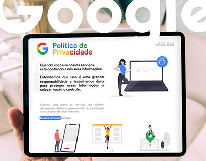 Visual Law - Política de Privacidade (Google)