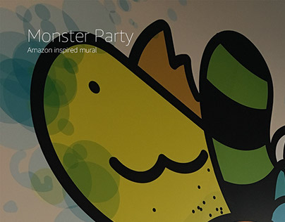 Mural: Monster Party