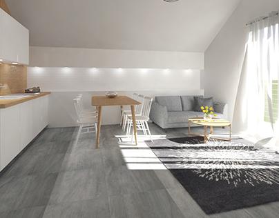 Guesthouse in Jastarnia / Willa minimalistyczna