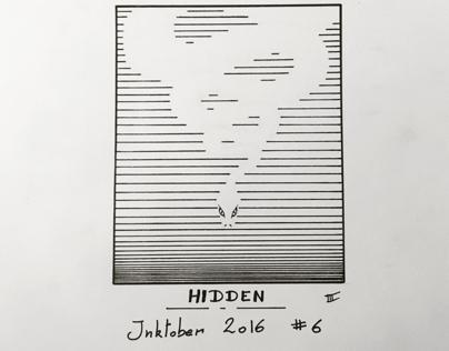 Inktober 2016 day 6 - Hidden