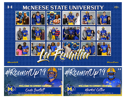 McNeese Cowboy Football 2019 National Signing Day